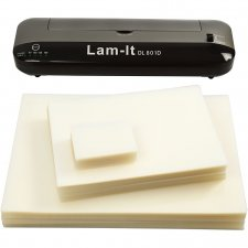 Lamineringsmaskin, 220-240V , tjocklek 100 my, , A3, 1set