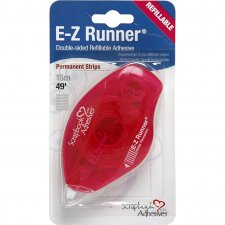 E-Z Runner®, B: 8 mm, , Strips - permanent, 15m