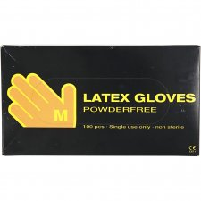 Latex handskar, stl. medium , , latex, 100st.