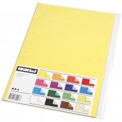 Colorbar rivpapper, A4 210x297 mm, 100 g, enfärgat papper, 16mix. ark