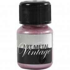 Art Metal färg, lavaröd, 30ml