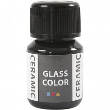 Glass Ceramic, svart, 35ml