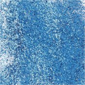 Textile Color, blå, glitter, 50ml