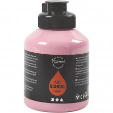 Pigment Art School, dusty rose, opaque, good fade resistant, 500ml