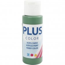 Plus Color hobbyfärg, forrest green, 60ml