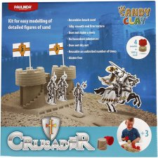 Sandy Clay® , natur, riddarborg, 1set